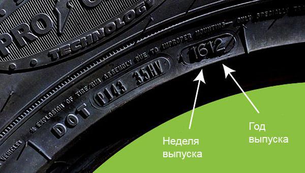 Как определить возраст шин? Сколько лет могут храниться шины?